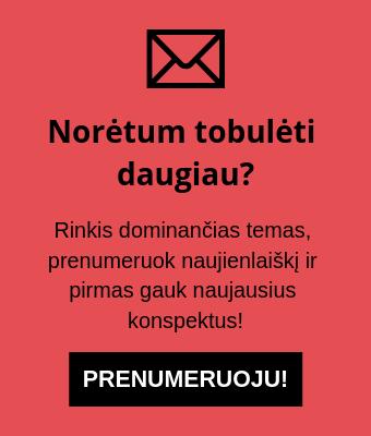 Naujienlaiškių prenumerata